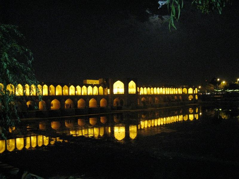 عکس پل خواجو اصفهان,معماری پل خواجو اصفهان