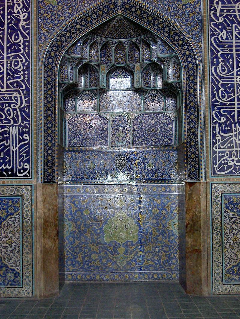 گنبد مسجد شیخ لطف الله اصفهان,مسجد شيخ لطف الله در اصفهان,مسجد شیخ لطف الله