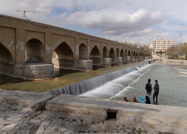 پل مارنان در اصفهان,پل های اصفهان,تاریخچه پل مارنان