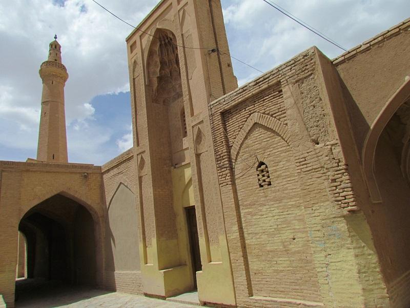 معماری مسجد جامع نائین اصفهان,نایین اصفهان