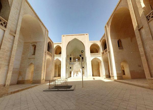 شبستان مسجد جامع نطنز,عکس مسجد جامع,مسجد جامع
