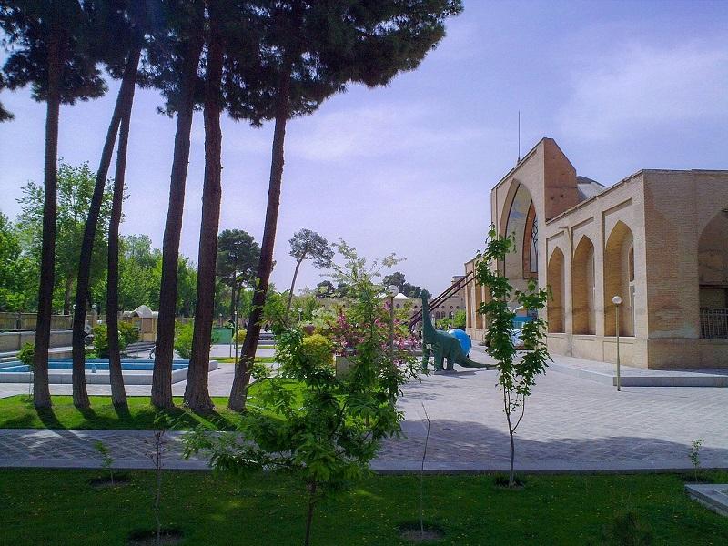 عکس تالار تیموری,عکس موزه تاریخ طبیعی اصفهان,عمارت تیموری