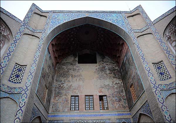 سردر قیصریه,سردر قیصریه اصفهان,عکس از بازار قیصریه اصفهان