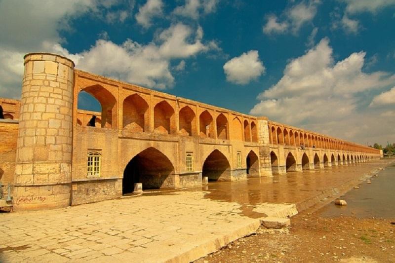 الله وردی خان,پل الله وردی خان,تاریخچه سی و سه پل اصفهان