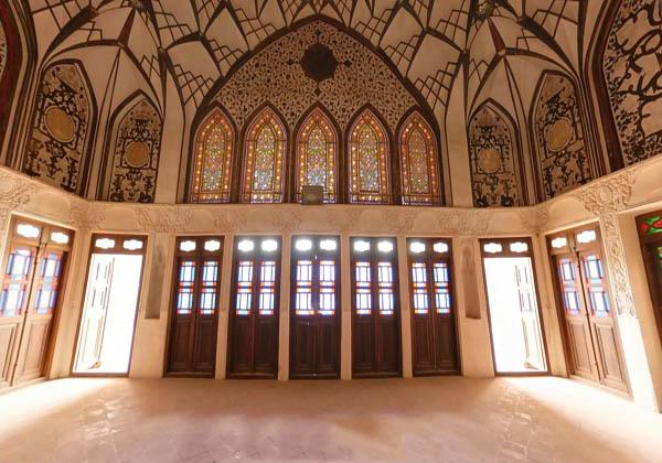 معماری خانه طباطبایی