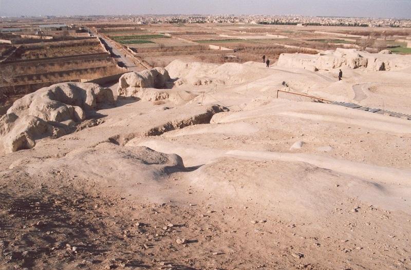 تپه سیلک در کاشان,تپه سیلک کاشان,تپه های سیلک اصفهان