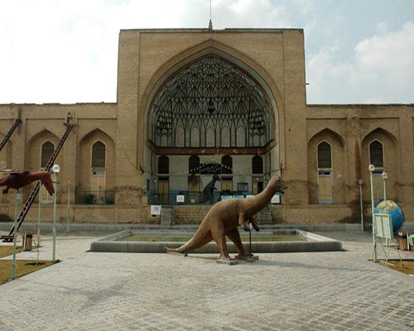 عمارت تیموری,موزه تاریخ طبیعی,موزه طبیعی