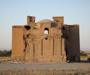بناهای تاریخی ایران,بنای تاریخی مصلی طرق,روستای طرق