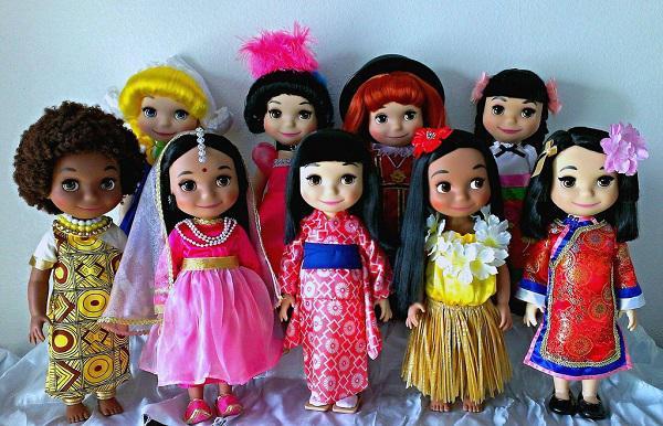 Disney dolls France