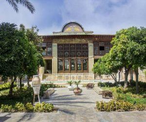 آدرس خانه زینت الملوک,باغ زینت الملوک شیراز,پلان خانه زینت الملوک در شیراز