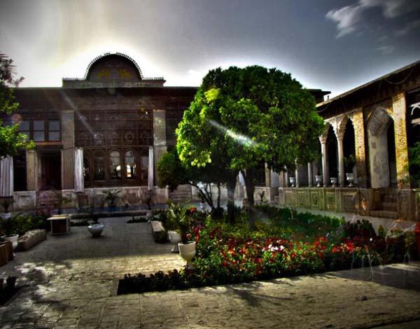 خانه زینت الملک,خانه زینت الملک شیراز,خانه زینت الملک قوامی