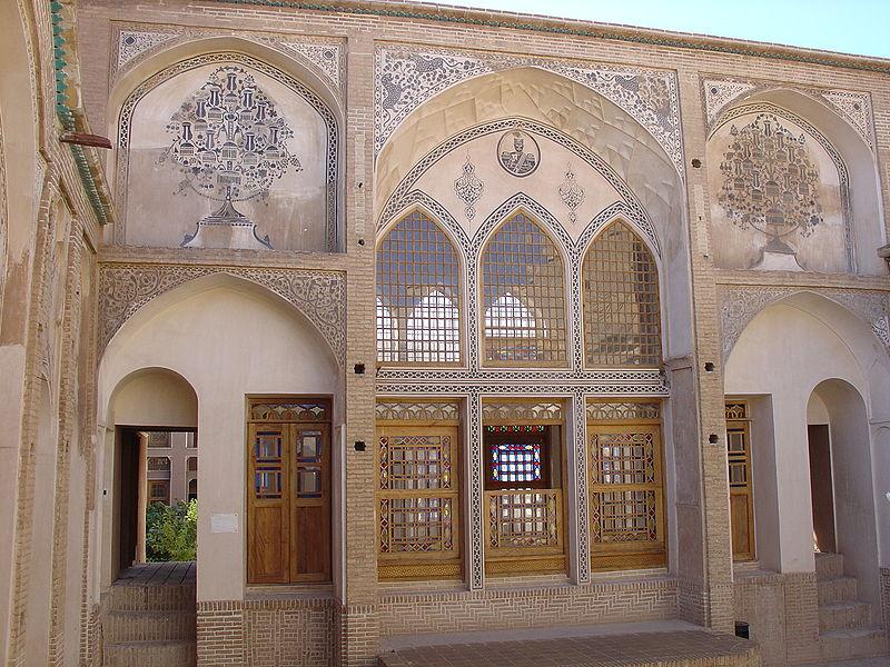 خانه عامريها در كاشان,خانه عامری ها در کاشان,خانه ی عامریها در کاشان
