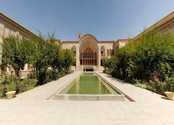 بنای تاریخی,تاریخچه خانه عامری ها,تاریخچه خانه عامری ها در کاشان