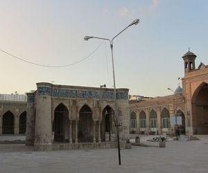تاریخچه مسجد عتیق شیراز,کتیبه مسجد عتیق شیراز,محراب مسجد عتیق شیراز