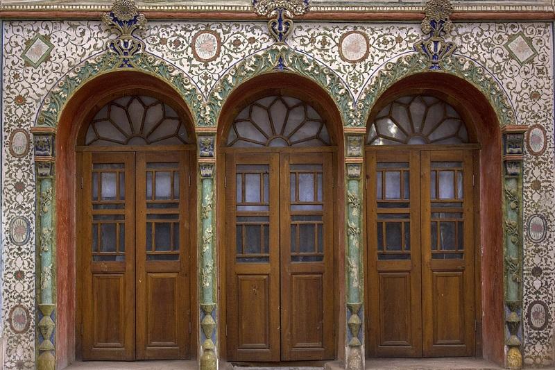 معماری خانه بروجردی ها در کاشان