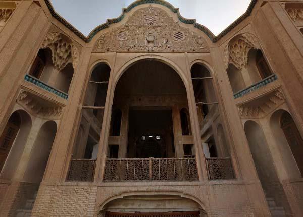 آدرس خانه بروجردی ها کاشان,بنای تاریخی,تاریخچه خانه بروجردی ها