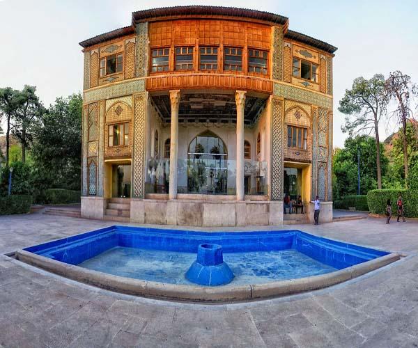 delgosha garden0 باغ دلگشای شیراز