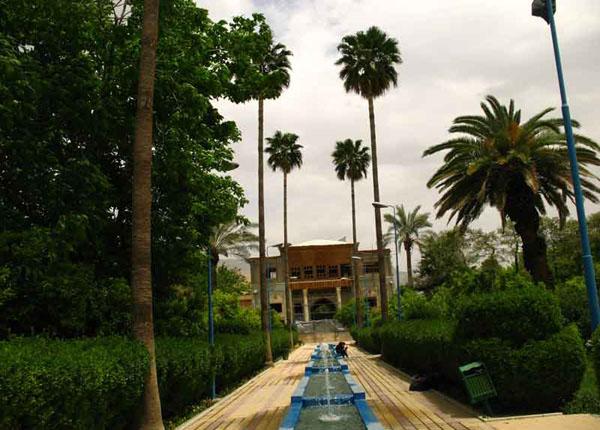 delgosha garden5 باغ دلگشای شیراز