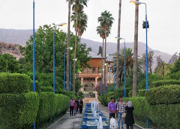 delgosha garden6 باغ دلگشای شیراز