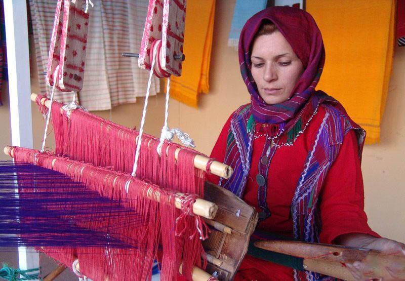 صنایع دستی شهر گرگان,صنایع دستی گلستان,قالیچه ترکمن گرگان