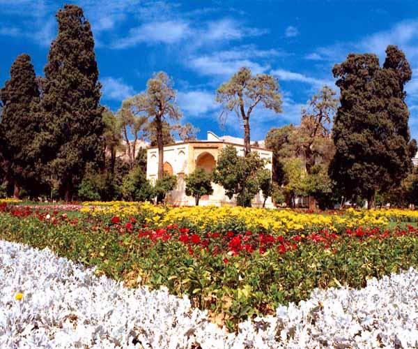 آدرس باغ جهان نما شیراز,باغ تاریخی شیراز,باغ جهان نما