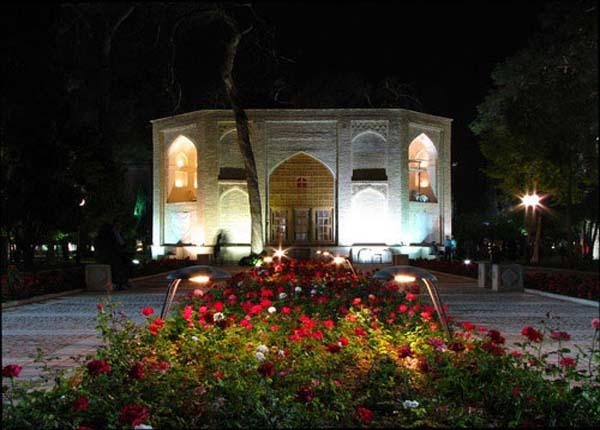 عکس باغ جهان نما شیراز