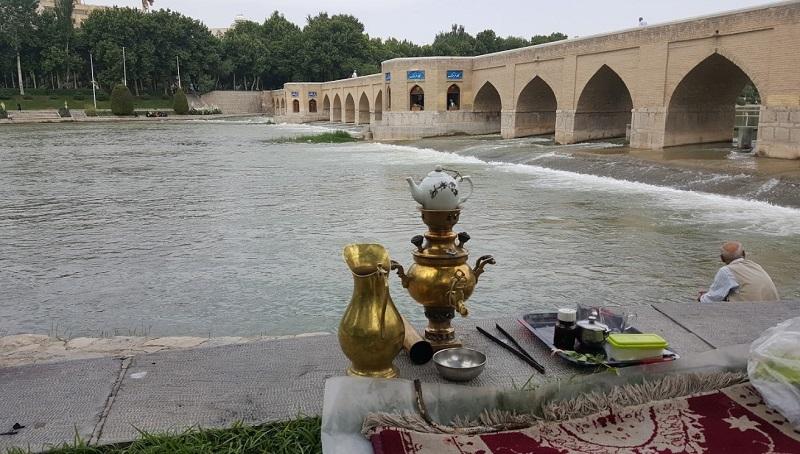 پل چوبی در اصفهان,عکس پل چوبی اصفهان,عکس های پل چوبی اصفهان