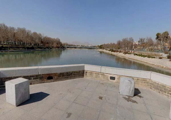 پل زاینده رود اصفهان,پل سعادت آباد,پل سعادت آباد اصفهان