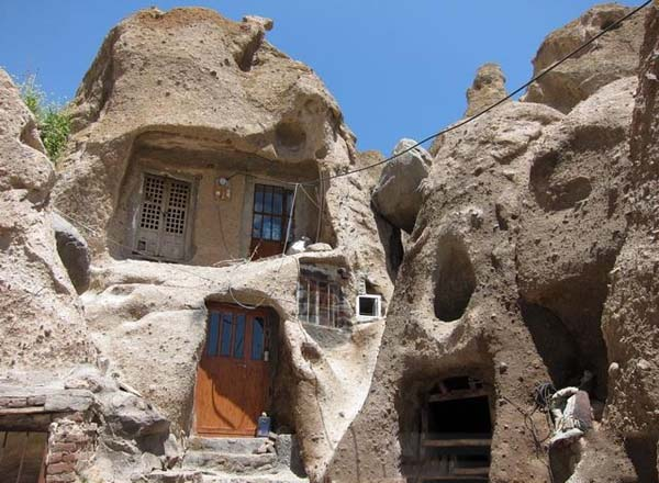 روستای کندوان آذربایجان,روستای کندوان اسکو,روستای کندوان ایران