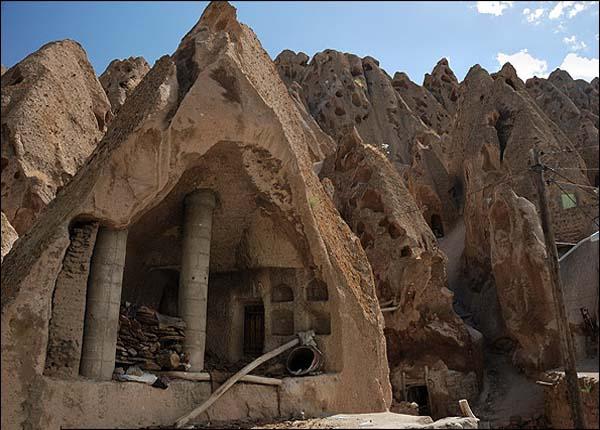 تاریخچه روستای کندوان,جاده کندوان,روستای کندوان