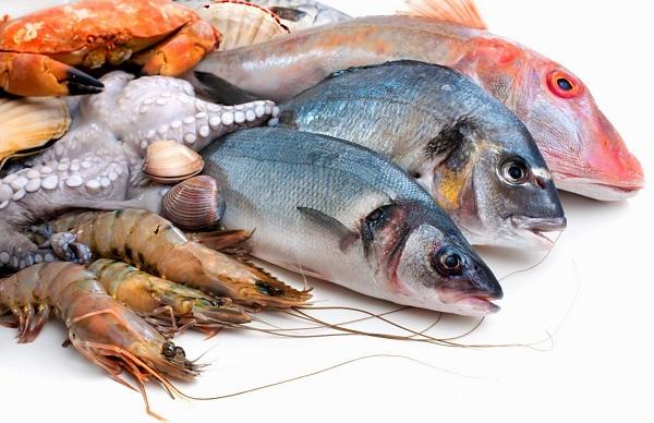 ماهی و میگوی کیش