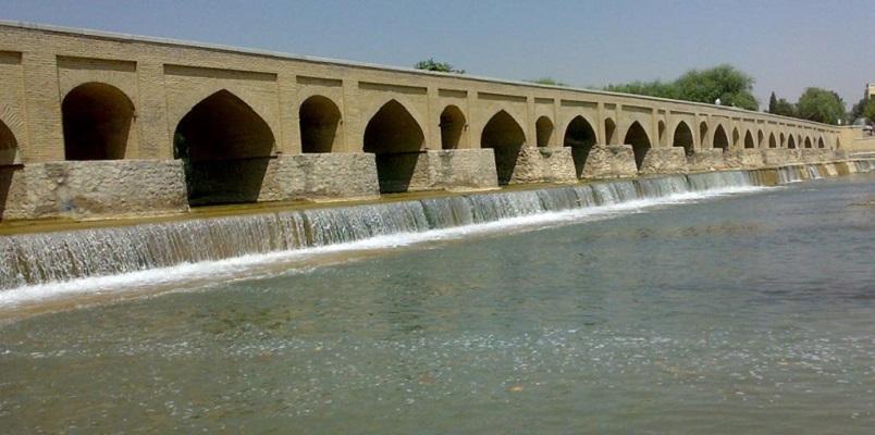 عکس پل مارنان اصفهان,عکسهای پل مارنان اصفهان,قدمت پل مارنان