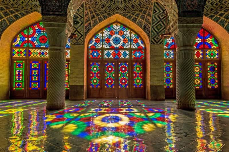 مسجد تاریخی در شیراز,مسجد تاریخی نصیرالملک,مسجد نصير الملک