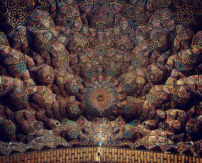عکس مسجد نصیرالملک شیراز,عکسهای مسجد نصیرالملک شیراز,قدیمی ترین مسجد در شیراز