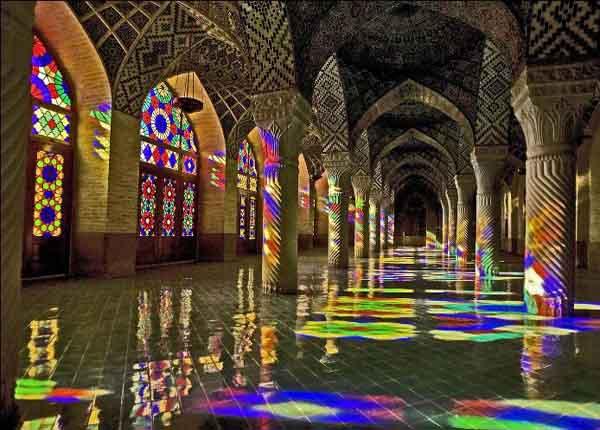 مسجد تاریخی در شیراز,مسجد تاریخی نصیرالملک,مسجد نصیرالملک