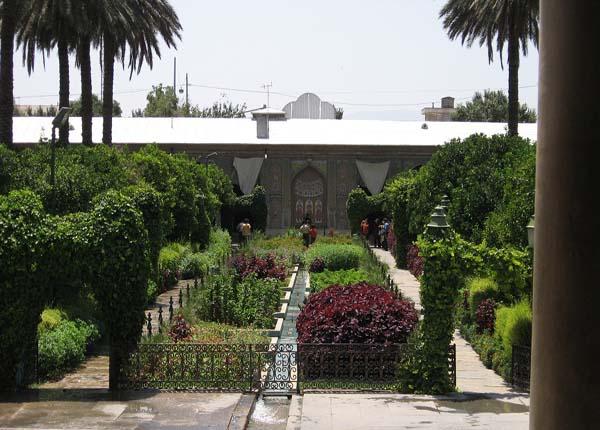 باغ نارنجستان قوام شیراز,پلان باغ نارنجستان,پلان باغ نارنجستان قوام