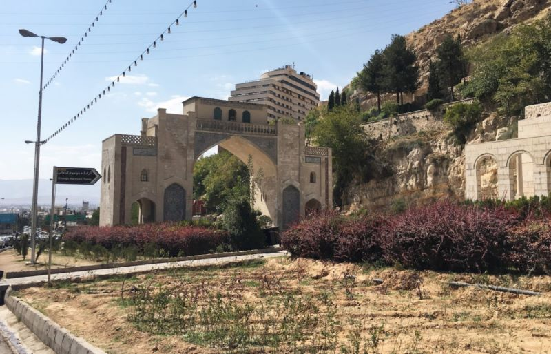 عکس دروازه قرآن شیراز,عکسهای دروازه قران شیراز