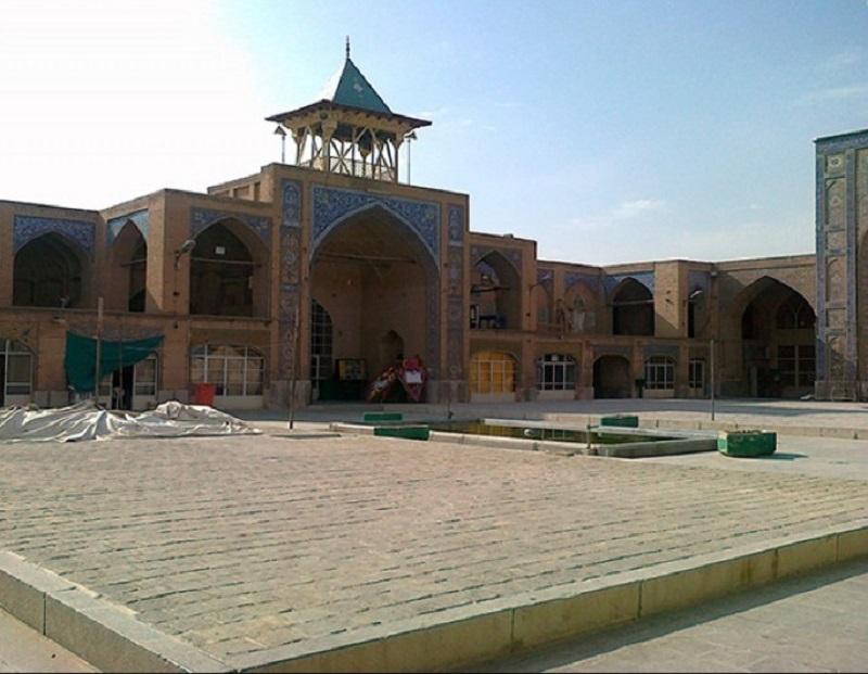 ادرس مسجد رحیم خان در اصفهان,پلان مسجد رحیم اصفهان,تاریخچه مسجد رحیم خان اصفهان