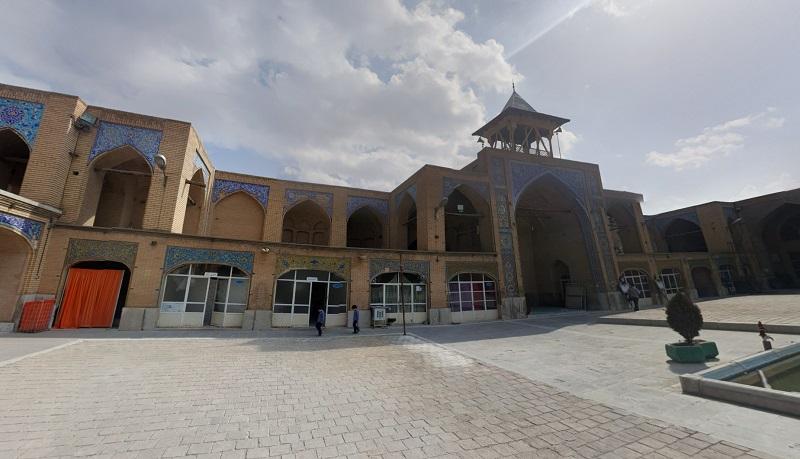 عکس از مسجد رحیم خان اصفهان,عکس مسجد رحیم خان اصفهان,مسجد رحيم خان