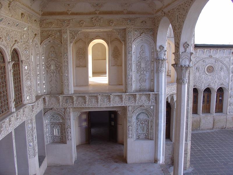 خانه طباطبایی ها در کاشان,خانه ی طباطبایی اصفهان,خانه ی طباطبایی ها
