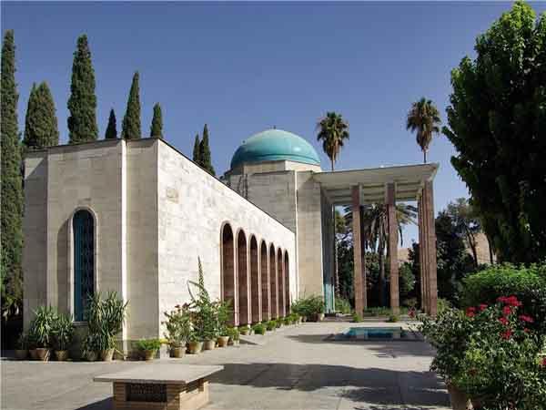 سعدی گلستان,سعدیه شیراز,عکس آرامگاه سعدی