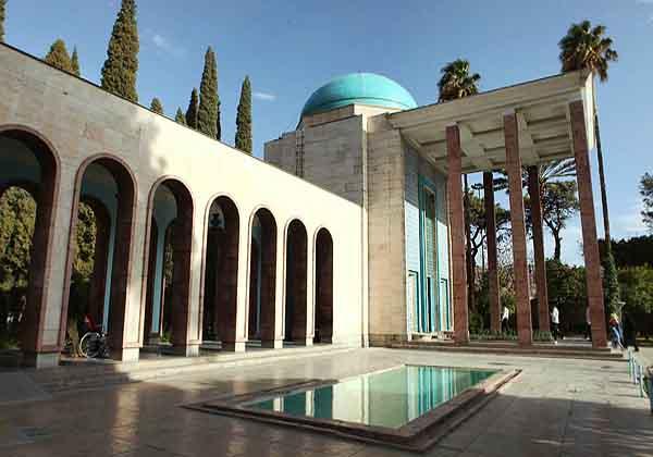 آدرس سعدیه شیراز,آرامگاه سعدی,سعدی شیرازی