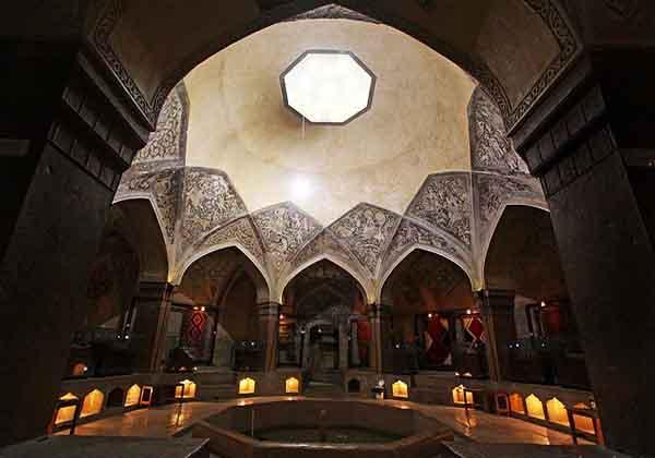 آثار تاریخی شیراز,تاریخچه حمامهای ایرانی,حمام وکیل