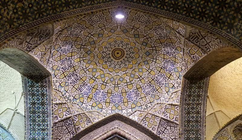مسجد وکیل شیراز کجاست؟,معماری مسجد وکیل شیراز