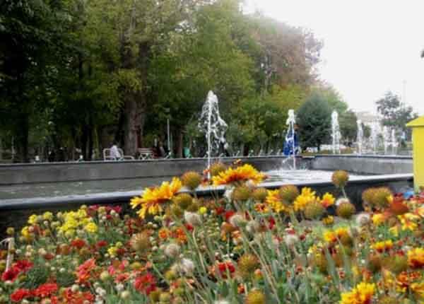 باغ گلستان,پارک باغ,پارک باغ تبریز