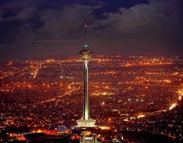 سالن کنسرت برج میلاد,عکس برج میلاد تهران