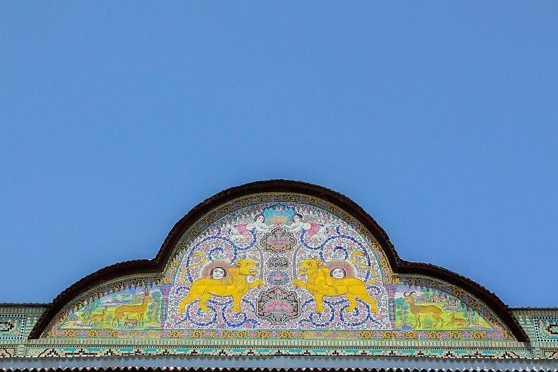 پلان باغ نارنجستان قوام,تاریخچه نارنجستان قوام شیراز,عکس باغ نارنجستان قوام شیراز