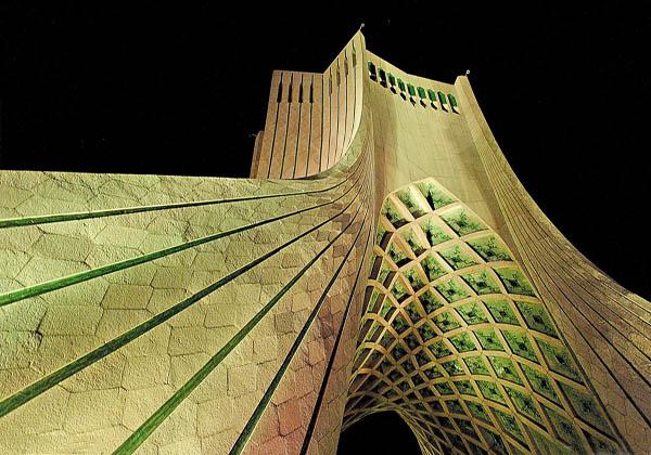 برج آزادی,پلان برج آزادی تهران,تاریخچه برج آزادی تهران