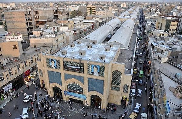 بازار رضا مشهد,تاریخچه بازار رضا مشهد,مجتمع بازار رضا مشهد