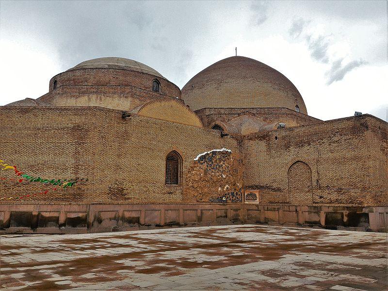 مسجد کبود تبریز,مسجد کبود تبریز عکس,معماری مسجد کبود تبریز